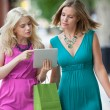 Female Friends Using Digital Tablet — Stock Photo #12807086