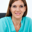 Female Dentist Smiling - Stockfoto