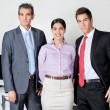 Confident Businesspeople Standing Together — Stock Photo