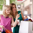 Stock Photo: Window Shopping Women