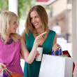 Women Window Shopping — Stock Photo #14245489