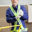 Foreman At Warehouse — Stock Photo