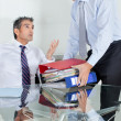 Businessmen Overwhelmed By Load Of Work — Foto Stock #14539987
