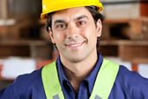 Young Foreman Smiling — Stock Photo