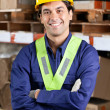 Confident Foreman At Warehouse — Stock Photo #15428067