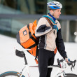 Bike Courier — Stock Photo #15428999