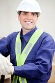Portrait Of Confident Foreman — Stock Photo