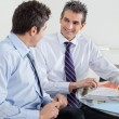Happy Businessmen In A Meeting — Stock Photo