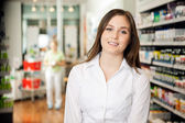 Beautiful Young Pharmacist — Stock Photo