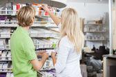 Estilo de vida farmácia — Foto Stock