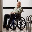 Stock Photo: Happy Disabled Senior Man