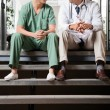 Stockfoto: Medical Colleagues Having Discussion