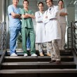 Confident Medical Professionals — Stockfoto