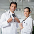 Medical Professionals Smiling - Stock Photo