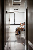 In Hospital's Waiting Area — Stock Photo