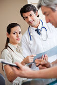 Medical Coworkers Standing Together — Stockfoto