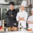 Chefs Standing With Arms Crossed — Stock Photo