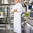 Confident Male Chef In Kitchen — Stock Photo #21180359