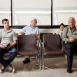 Waiting In Hospital Lobby — Stock Photo