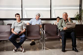 Waiting In Hospital Lobby — Stockfoto