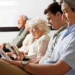 Patients Waiting In Lobby — Stockfoto #21534321