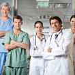 Confident Medical Professionals — Stockfoto #21616963