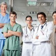 Stock Photo: Confident Medical Professionals