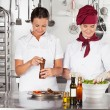 Female Chefs Preparing Food — Stock Photo