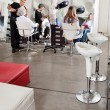 Stock Photo: Customers And Hairstylist In Salon