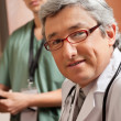 Mature Male Doctor — Stock Photo