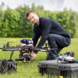 Portrait of an UAV Aerial Photography — Stock Photo #26649749