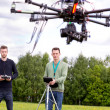 Stock Photo: UAV Photography Drone