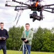 UAV Photography Drone — Stock Photo