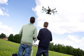 Multi rotor photography UAV — Stock Photo