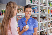 Woman With Friend Shopping In Supermarket — Stock Photo