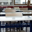 Empty Classroom With Chairs And Desks — Stock Photo