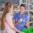 Female Friends Shopping Grocery — Stock Photo