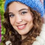 Beautiful Woman At Christmas Store — Stock Photo #32074675
