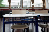 Classroom With Empty Chairs And Desks — Stock Photo