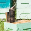 Bee Smoker At Apiary — Stock Photo #33348997