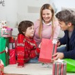 Family With Christmas Presents — Stock Photo #33963827