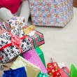 Closeup Of Christmas Presents — Stockfoto #33965999