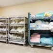 Hospital Supplies Arranged In Trolleys — Stock Photo #33999467