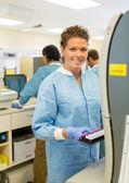 Portrait of Female Lab Tech — Stock Photo