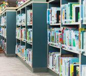 School Library — 图库照片