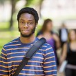 Portrait Of Male Student On Campus — Stock Photo