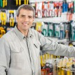 Man Standing In Hardware Store — Stock Photo #50083851