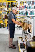 Salesman Working In Hardware Store — Stock Photo