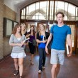 Group of college students — Stock Photo #6992462