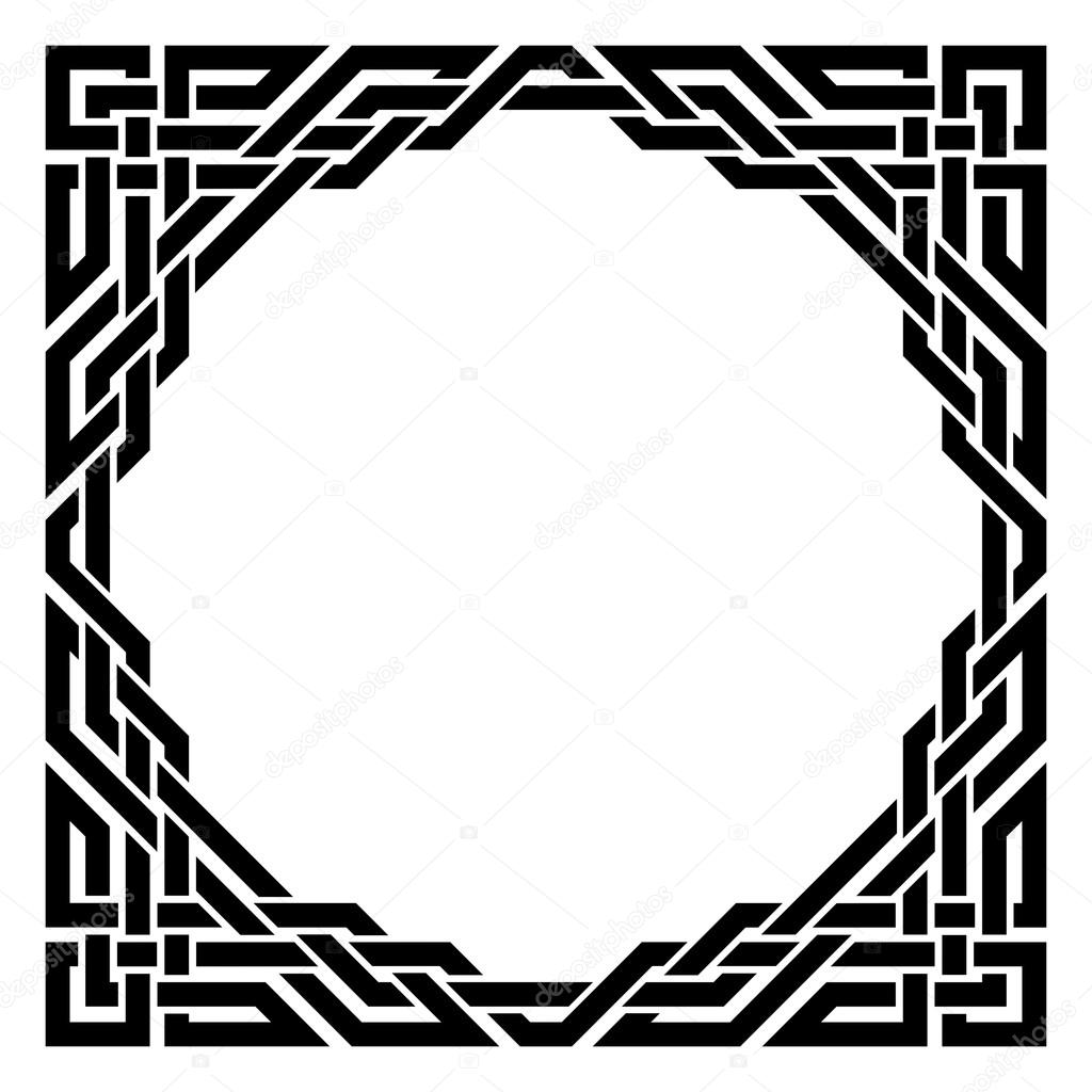 Displaying 15> Images For - Black Fancy Borders...
